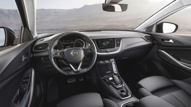 The Grandland X's cabin is spacious, but only on a par with rivals.