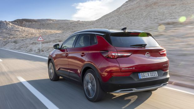 The Grandland X is priced from €47,415 after grants for the four-wheel drive, or €36,645 for the front-wheel-drive variant.