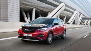 Opel's Grandland X Hybrid4 weighs in at more than 1,800kgs.