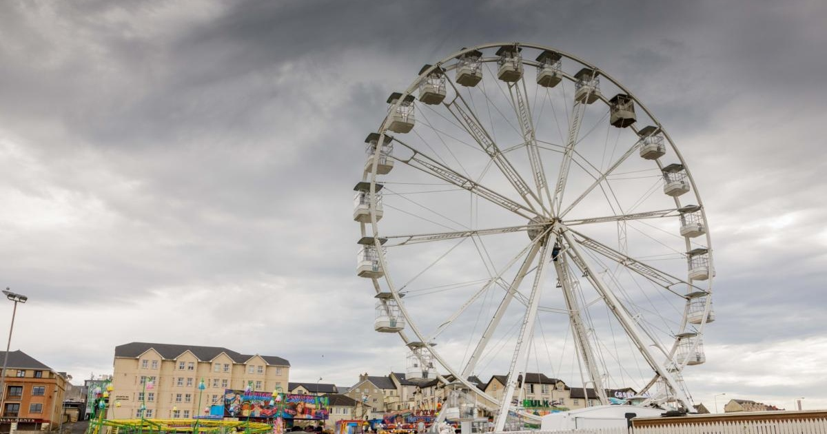 Big Wheel at Adventure Land, in Bundoran, Co Donegal. Photograph: James Connolly/The Irish Times