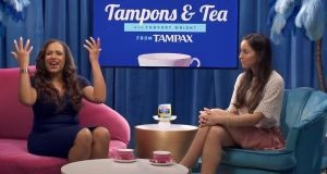 'You gotta get 'em up there, girls!': Tampax's banned Tampons & Tea television advert
