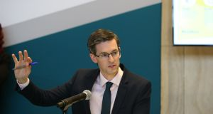 Acting Chief Medical Office  Dr Ronan Glynn: 'Ensure gatherings are kept to a minimum and invite no more than 10 others into your home.' Photograph: Stephen Collins/Collins Dublin