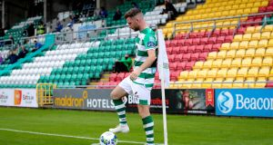 Shamrock Rovers' Jack Byrne scored the opener as his team increased their lead at the top of the table on Saturday. Photograph: Inpho