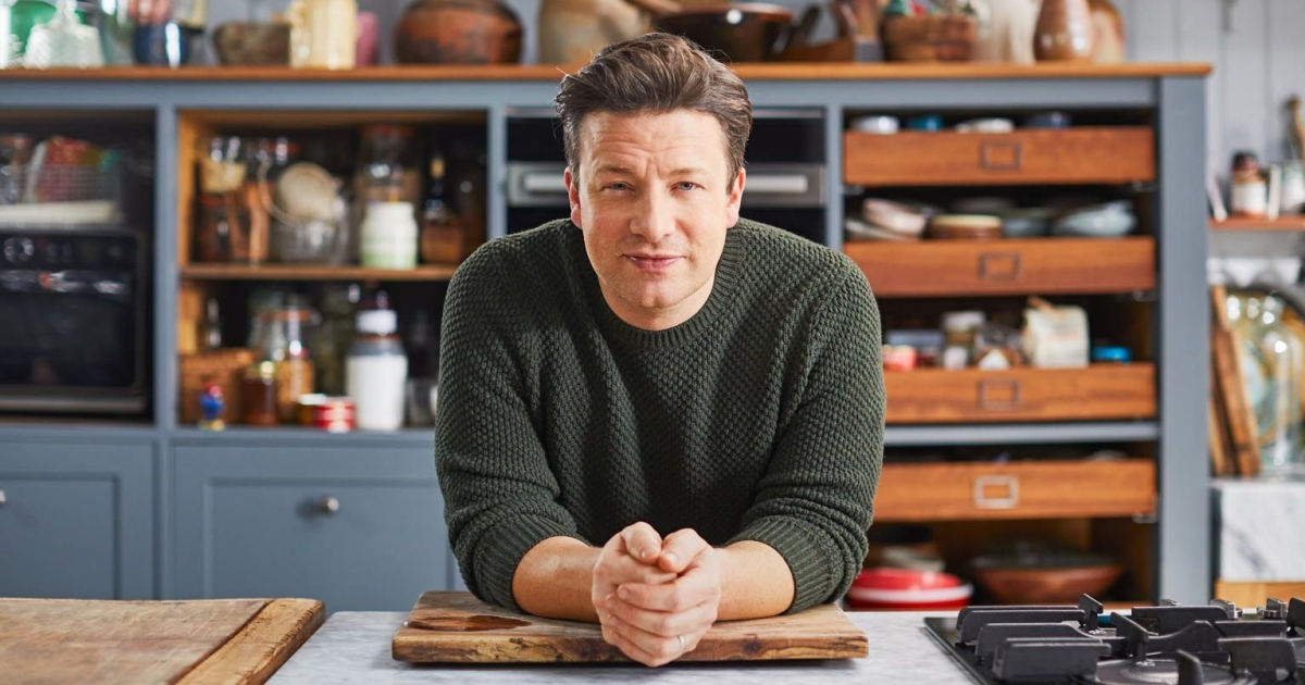 Jamie Oliver. Photograph: Channel 4