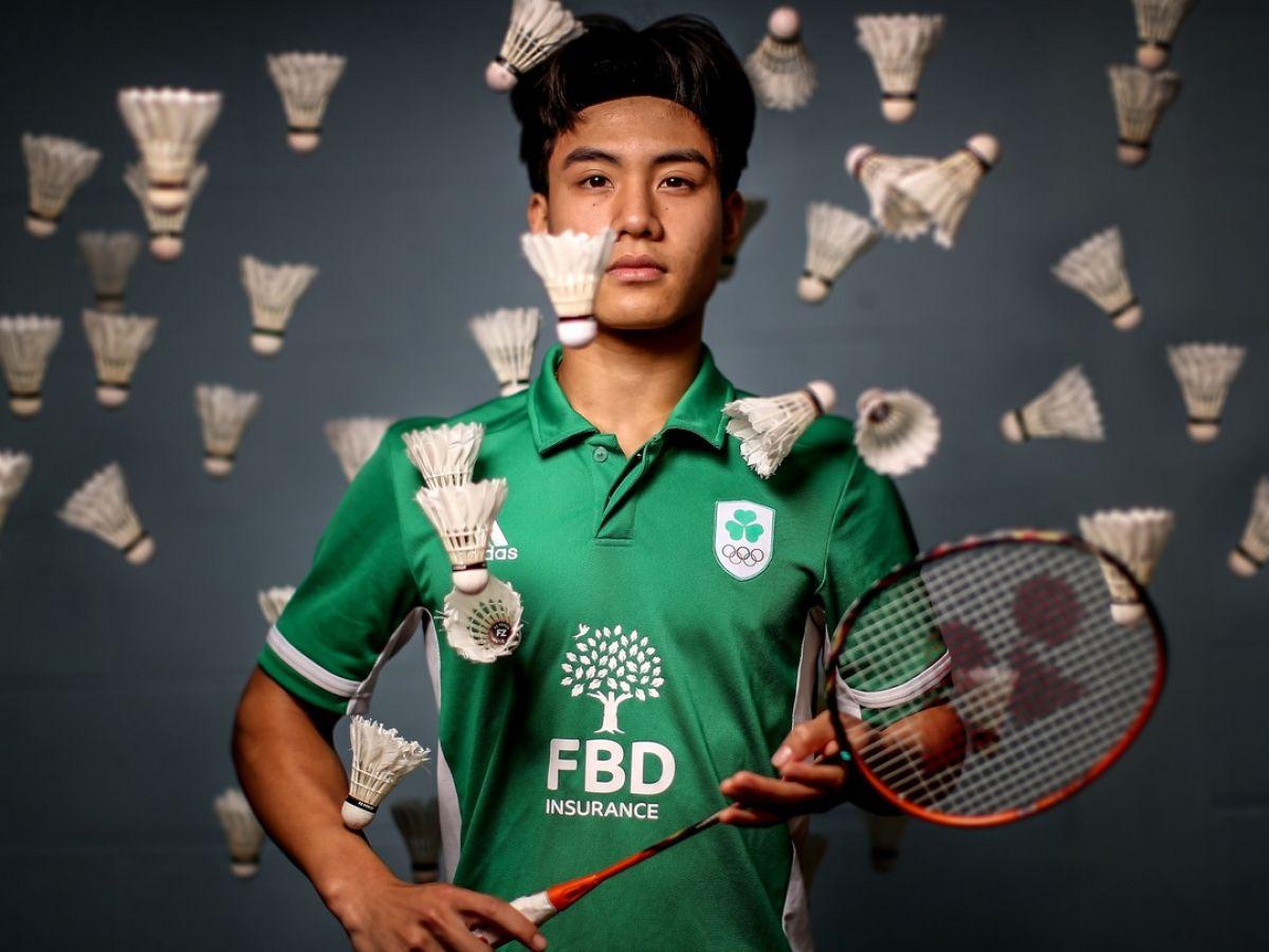Nhat Nguyen rallies round his family as dreams put on hold for now La estrella del bádminton Nhat Nguyen se retira en Tokio