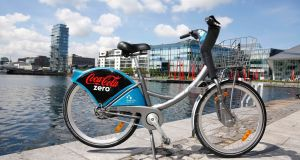 From next month, Dublin City Council  plans to increase the Dublinbikes annual charge to €35, but not to raise per-trip charges, or the €5 three-day subscription. Photograph: Conor McCabe Photography