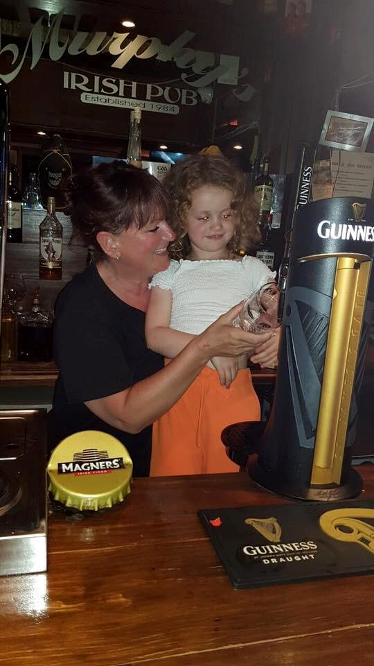 Tracy Conway co-owner of Murphy's Irish pub in Tenerife
