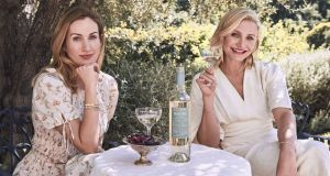 Avaline: Katherine Power and Cameron Diaz, creators of the organic, vegan, additive-free wine. Photograph: Justin Coit/Avaline