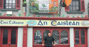 "Eoin Fahy outside his pub, An Caisleán in Portumna: ""They're telling us nothing, it's so frustrating that we don't even have a date. It's a kick in the teeth."""