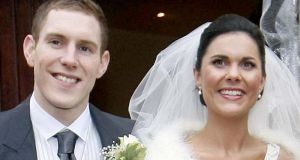 John and Michaela McAreavey on their wedding day at St Malachy's Church, Ballymacilrory. McAreavey has pursued a campaign for justice since his new bride was strangled in their hotel room at a luxury resort in January 2011.  Photograph: Irish News/PA Wire