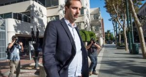 Anthony Levandowski agreed a plea deal in March. Photograph: David Paul Morris/Bloomberg