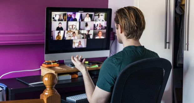 No reassuring personal interactions and the heavy reliance on often unsatisfactory video calls can undermine employee confidence. Photograph: iStock