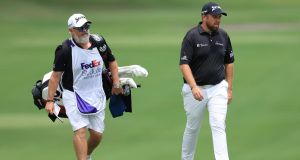 Shane Lowry teamed back up with regular caddie Bo Martin at last week's St Jude Invitational in Memphis. Photograph: Andy Lyons/Getty Images