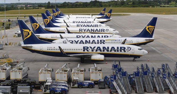 The Italian regulator warned that if the breaches continue, it would consider suspending Ryanair flights to and from Italy.  Photograph: EPA