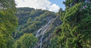 Powerscourt Waterfall near Enniskerry, Co Wicklow. Photograph: iStock