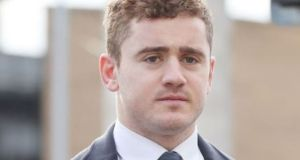 Former Ireland and Ulster rugby player Paddy Jackson: he was unanimously acquitted in Belfast Crown Court of raping a woman. An expert group was appointed after  the 2018  trial. Photograph: Niall Carson/PA Wire