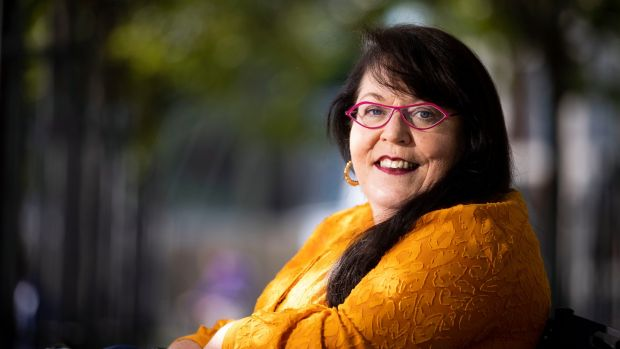 Disability and Traveller campaigner Dr Rosaleen McDonagh. Photograph: Tom Honan