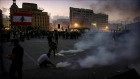 Violent clashes erupt in Beirut at anti-government protest