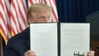 Trump signs coronavirus relief orders after talks with Congress break down