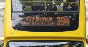 Bus drivers have claimed that Covid-19 restrictions have left them without toilet facilities on their routes. File photograph: Nick Bradshaw/The Irish Times.