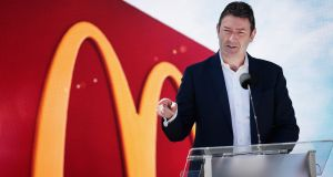An internal investigation by McDonald's alleges that Stephen Easterbrook had sexual relationships with multiple employees. Photograph: Scott Olson/Getty Images