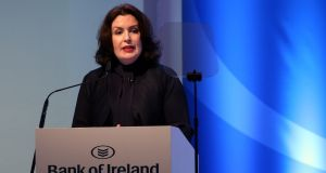 Bank of Ireland chief executive  Francesca McDonagh:  Bank was bashed on RTÉ's Liveline over its refusal  to accept responsibility for fraud losses. Photograph: Laura Hutton