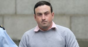 Aaron Brady: found guilty of robbery.  Photograph:  Collins Courts
