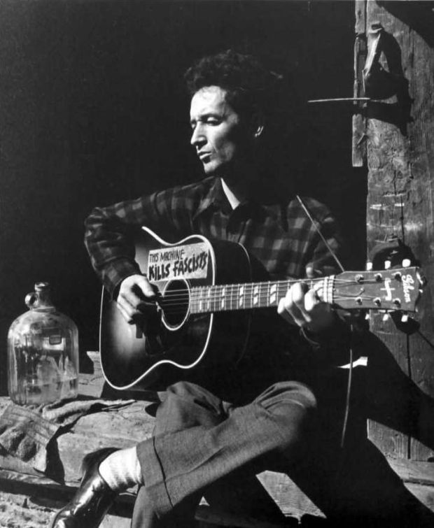 Woody Guthrie wrote a song about Donald Trump's father