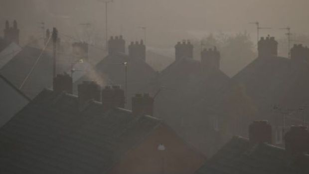 Scientists have found that air pollution in the winter is associated with more hospitalisations in Dublin due to strokes. File photograph: Getty