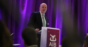 "AIB chief executive Colin Hunt described the bank's handling of mortgage lending during the early stages of the coronavirus crisis as ""regrettable"". Photograph: Nick Bradshaw"