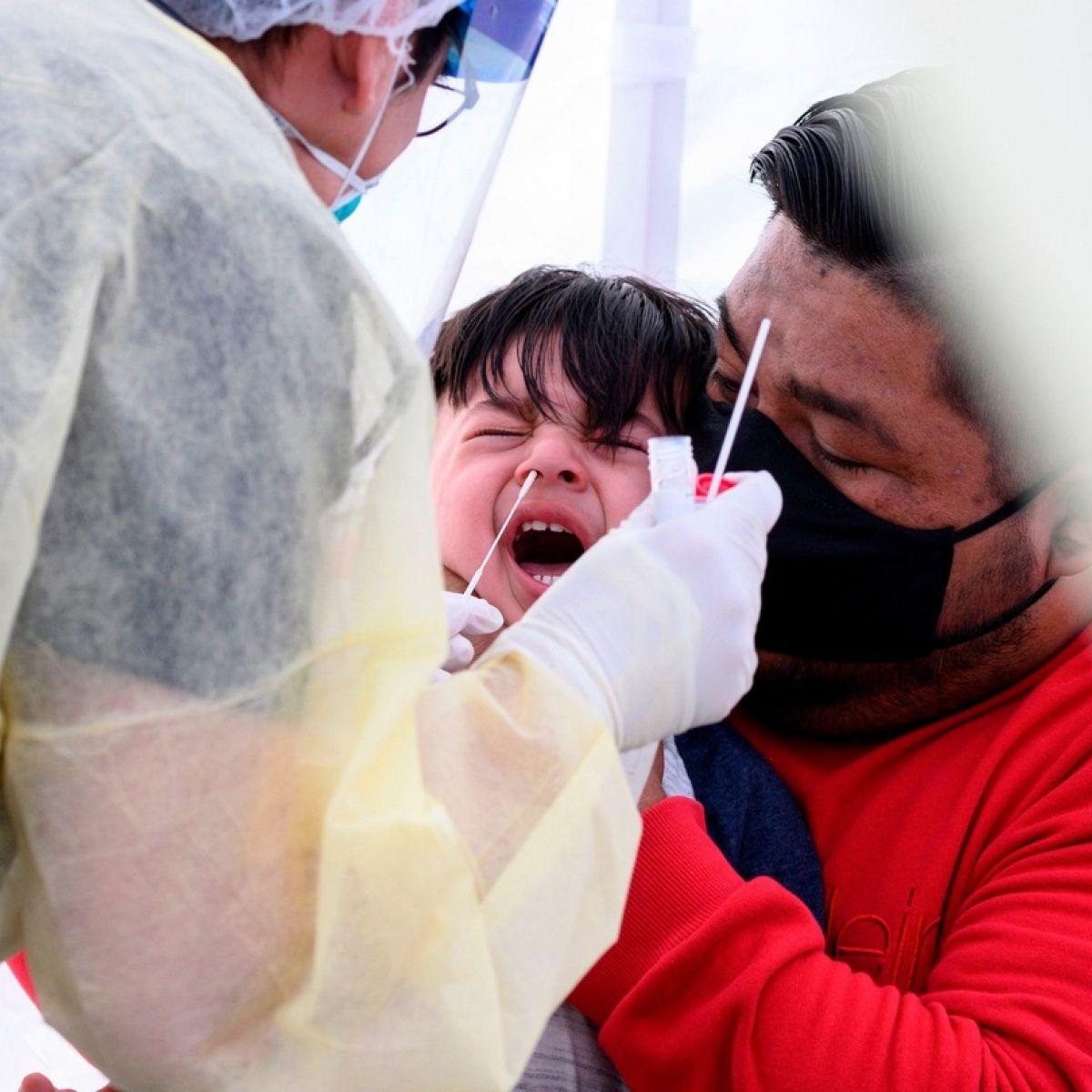 Experts examine less invasive Covid-19 testing for children