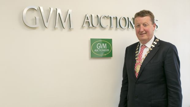 Tom Crosse incoming president of IPAV, the Institute of Professional Auctioneers & Valuers