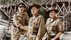 The Bridge on the River Kwai: Alec Guinness, William Holden, and Jack Hawkins in the 1957 film