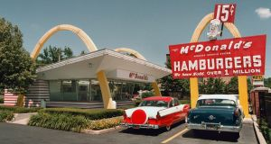 Formula 47: McDonald's used to cook its fries in beef dripping. Photograph: Joe Raedle/Getty