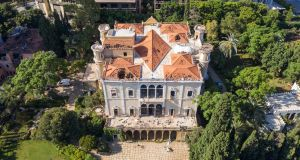 The 160-year-old Palais Sursock was one Beirut's great landmarks and home to the Cochrane family. Photograph: Getty Images