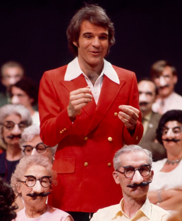 Steve Martin on The Ken Berry 'Wow' Show in 1972. Photograph: Walt Disney via Getty