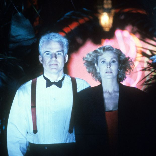Steve Martin and Victoria Tennant in LA Story in 1991. Photograph: TriStar/Getty