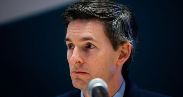 Dr Ronan Glynn, acting chief medical officer, outlined the new figures. File photograph: Tom Honan/The Irish Times
