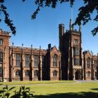 Queen's University Belfast: Northern Ireland students need three As at A-level to do law at Queen's University Belfast, while applicants from Britain need only three Bs.