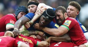 Harlequins forward Chris Robshaw was moved by a TV programme which included Saracens secondrow Maro Itoje. File photograph: Getty Images