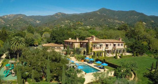 Meghan and Harry's new home in Montecito, in Santa Barbara, California. Photograph: santabarbarasluxuryhomes.com
