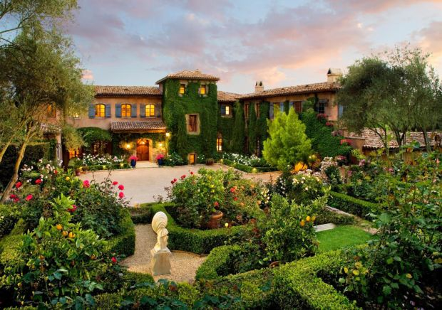 Meghan and Harry's new home in Montecito, in Santa Barbara, California. Photograph: santabarbarasluxuryhomes.com