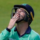 Ireland's Curtis Campher during the second ODI cricket match against England at the Ageas Bowl in Southampton. Photograph: Getty Images