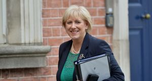 Minister for Social Protection Heather Humphreys: 'If you're a plumber, carpenter, beautician, gardener or electrician who is transitioning back to work, or the taxi driver getting your car back on the road – this grant may be of interest to you.' Photograph: Alan Betson