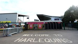 Harlequins v Sale will be the first game in the English Premiership for 159 days. File photograph: Getty Images