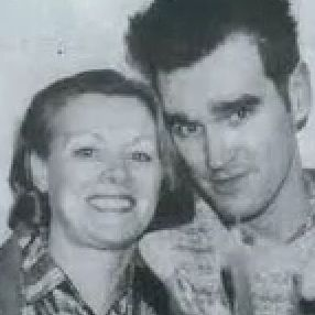 Morrissey and his mother Elizabeth Anne Dwyer. Photograph: Samesty Raynor/Morrissey Central