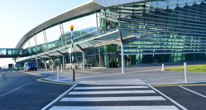 DAA staff at Dublin and Cork airports took a 20% pay cut in April after air travel was largely grounded across Europe and the US. Photograph: Getty Images/iStockphoto