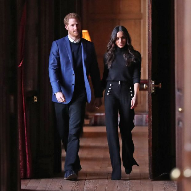 Corridors of power: Harry and Meghan have been alienated by life at court and media coverage. Photograph: Andrew Milligan/Pool/Getty