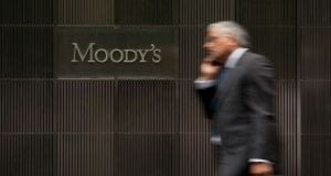 Moody's said strict lockdown measures implemented in the second quarter had resulted in severe disruptions on the supply side and weak domestic demand