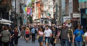 The number of people living in Dublin now stands at 1.42 million, with the local population increasing by 1.6 per cent over the year